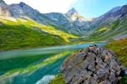 Inoffiziell - mit minus 52,5 Grad - der kälteste Ort der Schweiz: Die Glattalp oberhalb des Bisisthals im Kanton Schwyz. Bild: Yasmin Kunz (4. August 2018)