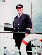 Kapitän Georg Huber.