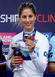 Neff mit der Goldmedaille. (Bild: Jane Barlow)
