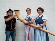 Dänu Wisler, Doris Bühler-Ammann und Rebecca Scherrer-Wiesenberg (von links) freuen sich aufs Zwingli-Projekt. (Bild: PD)