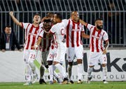 In der letzten Saison schaffte Olympiakos Piräus die Qualifikation für die Champions-League-Qualifikation. (Bild: Srdjan Stevanovic/Getty (Belgrad, 25. Juli 2017))