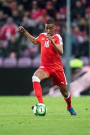 Gelson Fernandes an der Fussball-WM in Russland (Bild: Keystone/Jean-Christophe Bott)