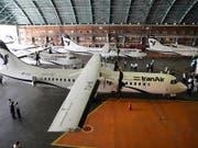Am Tag vor neuen US-Sanktionen hat der Iran in Europa noch fünf neue Flugzeuge des Typs ATR72-600 gekauft. (Bild: KEYSTONE/AP/MOHAMMAD HASSANZADEH)