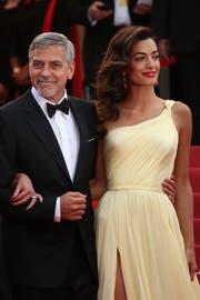 George und Amal Clooney. (Bild: Joel Ryan/AP)