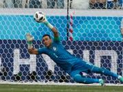 Nach 159 Länderspielen beendet Ägyptens Goalie Essam el-Hadary seine Nationalmannschaftskarriere (Bild: KEYSTONE/AP/DARKO VOJINOVIC)