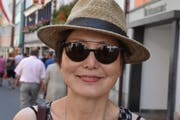 Fumiko Yamasaki, Touristin aus dem Aargau.