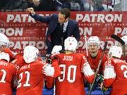 Das von Patrick Fischer gecoachte Schweizer Eishockey-Nationalteam startet an der WM 2019 in der Slowakei gegen Italien (Bild: KEYSTONE/SALVATORE DI NOLFI)