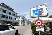 Der Boulevard wurde als Begegnungszone konzipiert. (Bild: Donato Caspari)