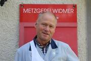 Urs Widmer, Inhaber Metzgerei Widmer, Lichtensteig (Bild: Corinne Bischof)