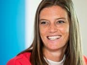 Lea Sprunger mit dem Lächeln einer Europameisterin? (Bild: KEYSTONE/JEAN-CHRISTOPHE BOTT)