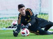 Torhüter Thibaut Courtois steht in Zukunft für Real Madrid zwischen den Pfosten (Bild: KEYSTONE/EPA/PETER POWELL)