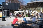 In Wattwil waren sie bereits, am Wochenende kommen die Kulturcontainer nun nach Wil. (Bild: Ralph Ribi)