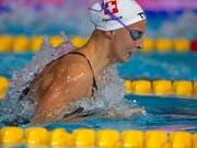 Bronze und Schweizer Rekord für Maria Ugolkova über 200 m Lagen (Bild: KEYSTONE/EPA/PATRICK B. KRAEMER)
