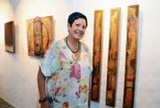 Margaretha Bissig stellt in der Galerie im Haus 7 aus. (Bild: Hansruedi Rohrer)