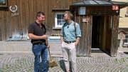 Christian Schedler im Gespräch mit Moderator Marco Fritsche. (Bild: 3+)