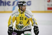 So sah das Auswärtsdress des HC Thurgau (hier Captain Patrick Parati) in der Saison 2017/18 aus. (Bild: Mario Gaccioli)