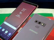 Gegen die Flaute auf dem Handymarkt: Samsung setzt mit dem neuen Smartphone «Galaxy Note 9» auf Spiele-Nutzer. (Bild: KEYSTONE/AP/RICHARD DREW)