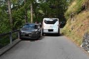 Bei dem Unfall wurde niemand verletzt. (Bild: Landespolizei)