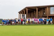 Die Gäste der vierten Raphael Diaz Golf Trophy. (Bild: Raphael Diaz Golf Trophy (Holzhäusern, 8. August 2018)