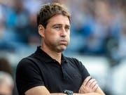 Rene Weiler hat beim FC Luzern noch viel Arbeit vor sich (Bild: KEYSTONE/MELANIE DUCHENE)