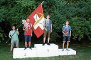 Kyle Lüthi gewinnt als jüngster Finalist nationales Edelmetall. (Bild: pd)