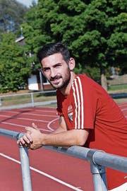 Davide Palatucci ist neu im Dress des FC Rotkreuz zu sehen. (Bild: Werner Schelbert)