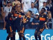 Houston Dynamo freut sich über den Einzug in den amerikanischen Cupfinal (Bild: KEYSTONE/AP/ORLIN WAGNER)