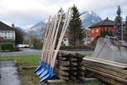 Das Baugewerbe beurteilt Geschäftsgang und Aussichten skeptischer als andere Branchen. (Symbolbild: Matthias Piazza)