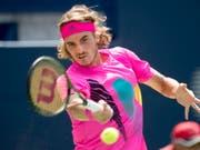Stefanos Tsitsipas überzeugt nicht nur mit seinem Outfit (Bild: KEYSTONE/AP The Canadian Press/FRANK GUNN)