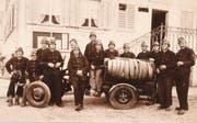 Die Feuerwehr Opfersei wurde 1943 aus der Not heraus gegründet. Heute löscht sie keine Feuer mehr, sondern führt kulturelle Anlässe durch. (Bild: PD)