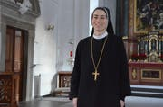 Schwester Imelda Zehnder wurde am 17. Januar 2014 zur Äbtissin des Frauenklosters St. Lazarus in Seedorf UR gewählt. (Bild: Bruno Arnold, Seedorf, 22. Januar 2014)