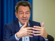 IKRK-Präsident Peter Maurer wünscht sich eine grössere finanzielle und politische Unterstützung der Schweiz für das IKRK. (Bild: KEYSTONE/MARTIAL TREZZINI)