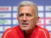 Vladimir Petkovic will die Bestätigung von der starken Leistung gegen Island (Bild: KEYSTONE/GEORGIOS KEFALAS)