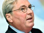 Hariolf Kottmann, CEO von Clariant , erhält mit Sabic definitiv einen neuen Grossaktionär. (Bild: KEYSTONE/WALTER BIERI)