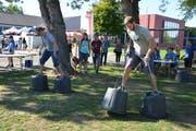 Die Teilnehmer hatten anspruchsvolle Aufgaben zu bewältigen. (Bild: Monika Wick)