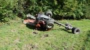 In Grabs ist eine 18-jährige Landwirtin tödlich verunglückt. (Bild: Kapo)
