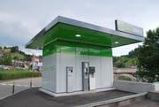 Die Säntis Energie baut eine Ökotankstelle für E-Autos und Erdgas-betriebene Fahrzeuge in Wattwil. Eine solche gibt es bereits in Herisau. (Bild: PD)
