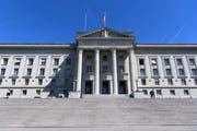 Das Bundesgericht in Lausanne. (Bild: Keystone/Laurent Gillieron)