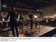 Im Luzerner Saal gelangte Stockhausens «Gruppen» für drei Orchester zur Aufführung. (Bild: Priska Ketterer/LF (Luzern, 9. September 2018))