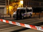 Der Ort des Messerangriffs in Paris. (Bild: Keystone/AP/THIBAULT CAMUS)