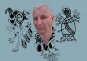 Der 54-Jährige ist ein Unikat im deutschsprachigen Raum: Jo Zimmermann aus Köln ist Schlammpeitziger. Er experimentiert mit Synthesizern und alten Casio-Keyboards. Am Freitag spielt er im Palace St.Gallen. Bild: PD