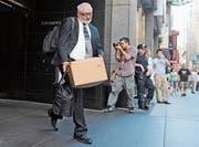 Nach 158 Jahren war Lehman Brothers vor zehn Jahren am Ende. (Bild: Louis Lanzano/Keystone (New York, 15. September 2008)