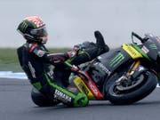 Skandalfahrer Romano Fenati tritt vom Motorradsport zurück (Bild: KEYSTONE/EPA AAP/JOE CASTRO)