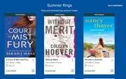 Über die Plattform OverDrive können insbesondere englischsprachige eBooks und digitale Hörbücher ausgeliehen werden. (Bild: pd)