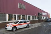 Der Tatort: In diesem Gebäude war eine riesige Hanfplantage untergebracht. (Bild: Kapo SG)