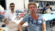 Camill (rechts) kommt aus den Kanton Schaffhausen. (Bild: Rossella Blattmann)