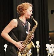Ayleen Weber spielte «Rock Me». (Bild: Bettina Brauchli)