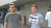 Yanick (links) aus Solothurn. (Bild: Rossella Blattmann)