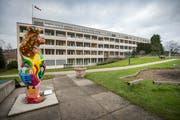 Ostschweizer Kinderspital in St. Gallen; der Thurgau zahlt ans Defizit. (Bild: Urs Bucher)