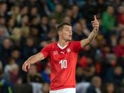 Granit Xhaka war in England der Chef einer guten Schweizer Mannschaft (Bild: KEYSTONE/GEORGIOS KEFALAS)